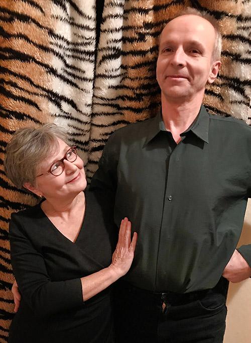 Marie Deutscher und Andre Kolin